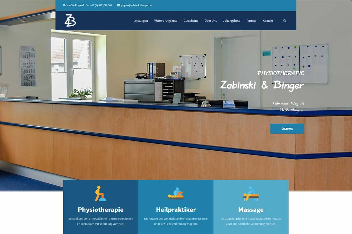 Portfolio: physiotherapie-in-munster.de